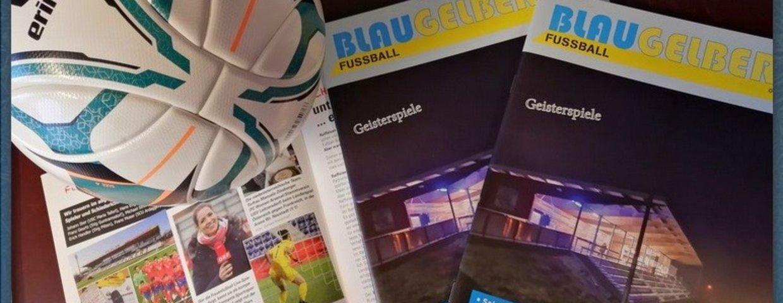 """Die neue Ausgabe des Verbandsmagazines """"Blau Gelber Fussball"""" (Ausgabe 04-2020) ist knapp vor Weihnachten erschienen"""