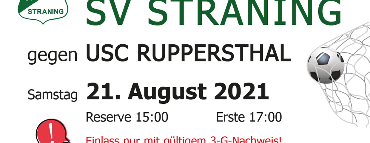 Straning - Ruppersthal, 21.08.2021